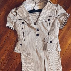 Bebe skirt suit